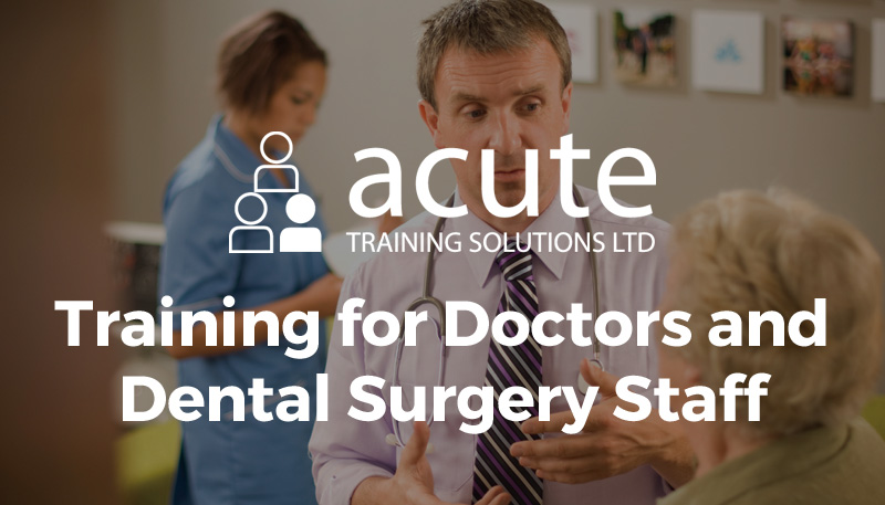 Training for Doctors and Dental Surgery Staff | Medical Training